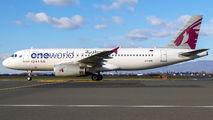 A7-AHL - Qatar Airways Airbus A320 aircraft