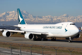B-LJC - Cathay Pacific Cargo Boeing 747-8F