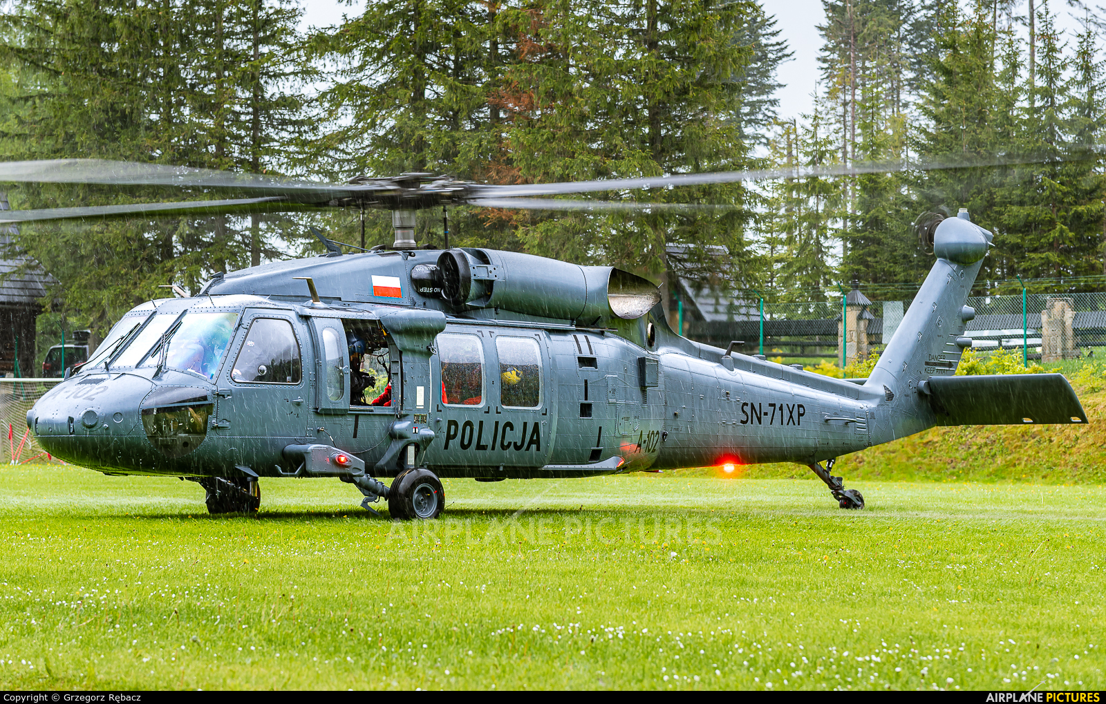 Poland - Police SN-71XP aircraft at Undisclosed location