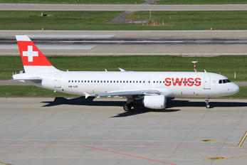 HB-IJD - Swiss Airbus A320