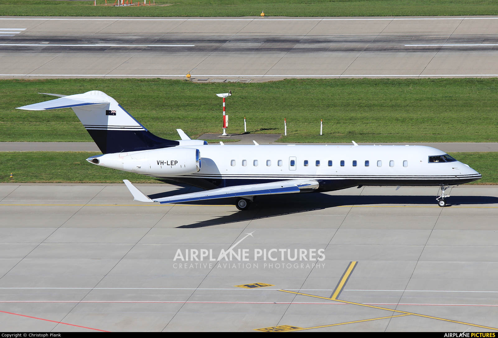 Private VH-LEP aircraft at Zurich