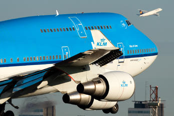 PH-BFL - KLM Boeing 737-400F