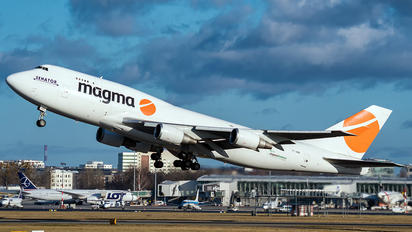 TF-AMN - Magma Aviation Boeing 747-400BCF, SF, BDSF