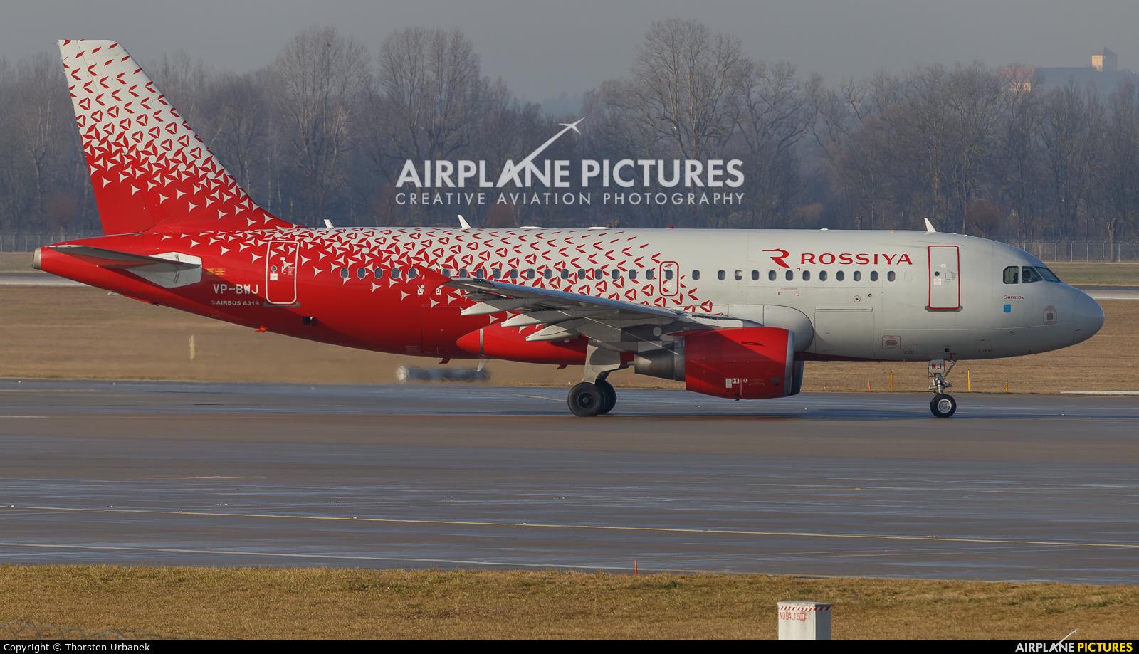 Rossiya VP-BWJ aircraft at Munich