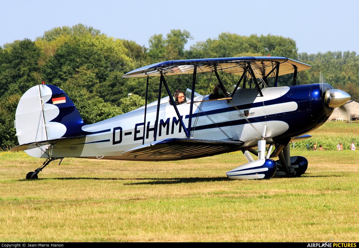 Private D-EHMM aircraft at Diest Schaffen