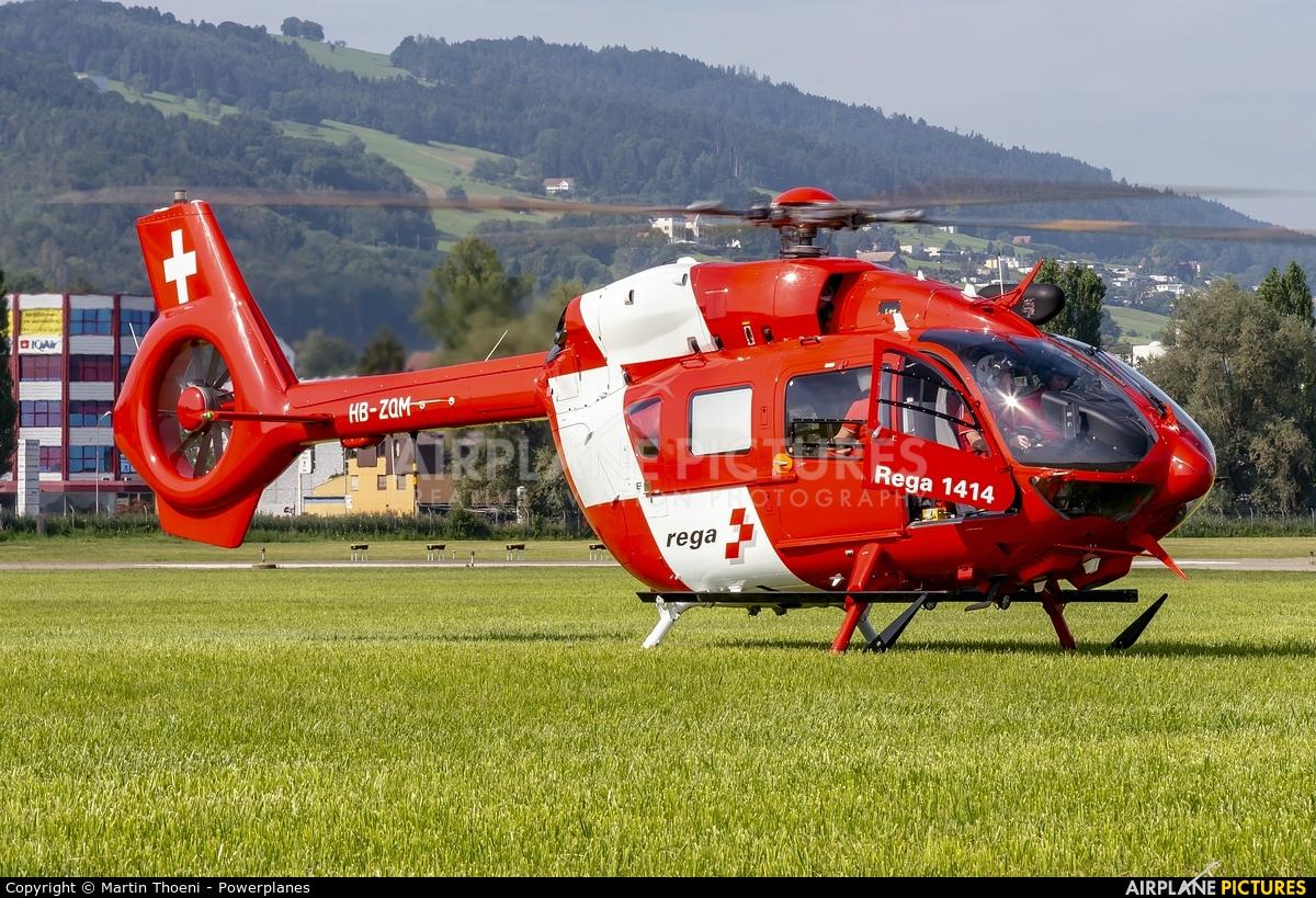 REGA Swiss Air Ambulance  HB-ZQM aircraft at St. Gallen - Altenrhein