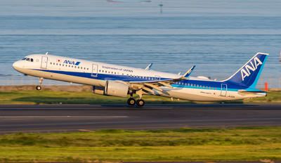 JA132A - ANA - All Nippon Airways Airbus A321 NEO