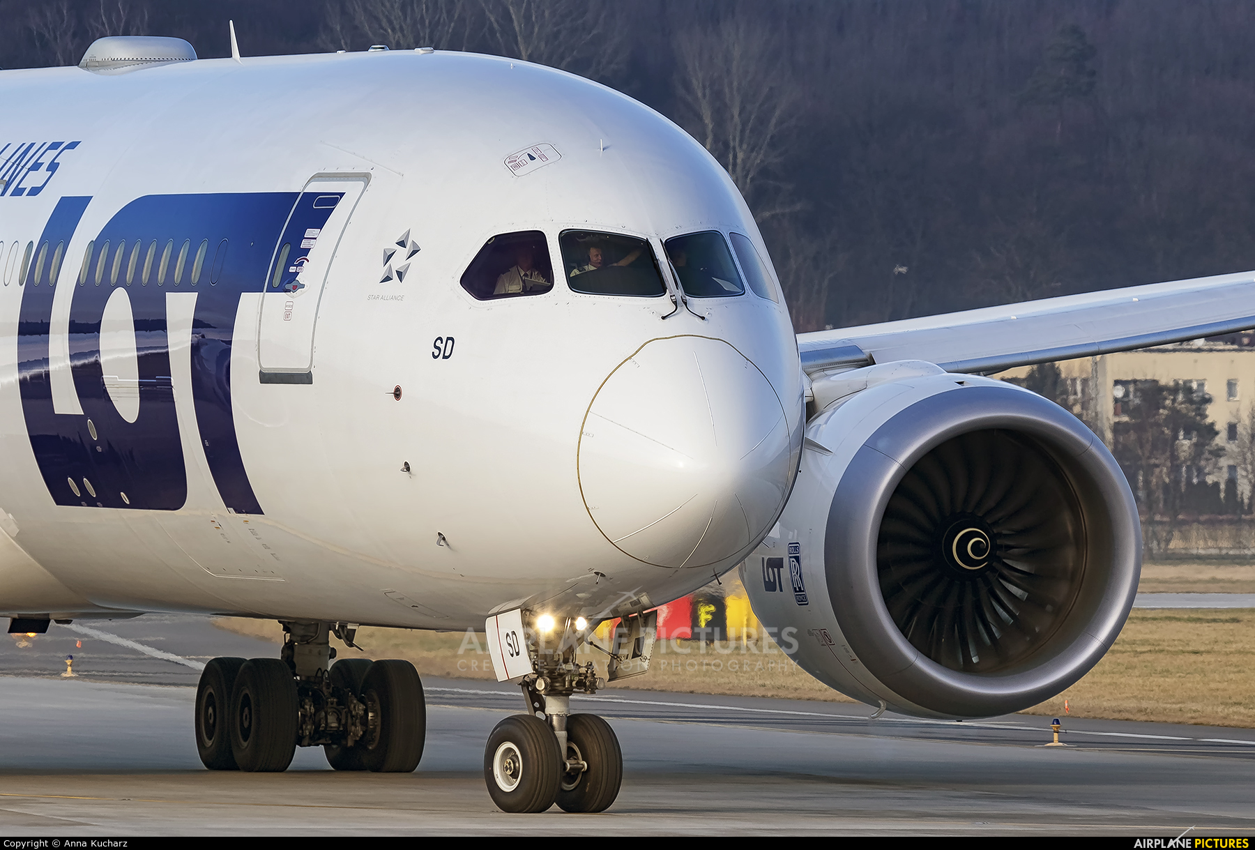 LOT - Polish Airlines SP-LSD aircraft at Kraków - John Paul II Intl