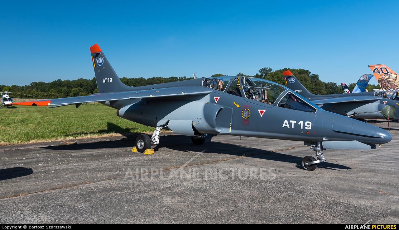 Belgium - Air Force AT-19 aircraft at Ostrava Mošnov
