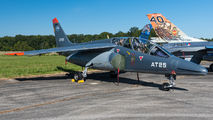 AT-25 - Belgium - Air Force Dassault - Dornier Alpha Jet 1B aircraft
