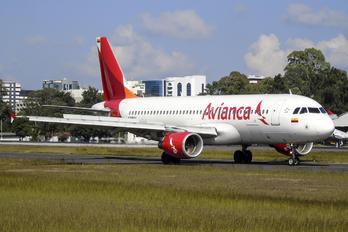N481AV - Avianca Airbus A320