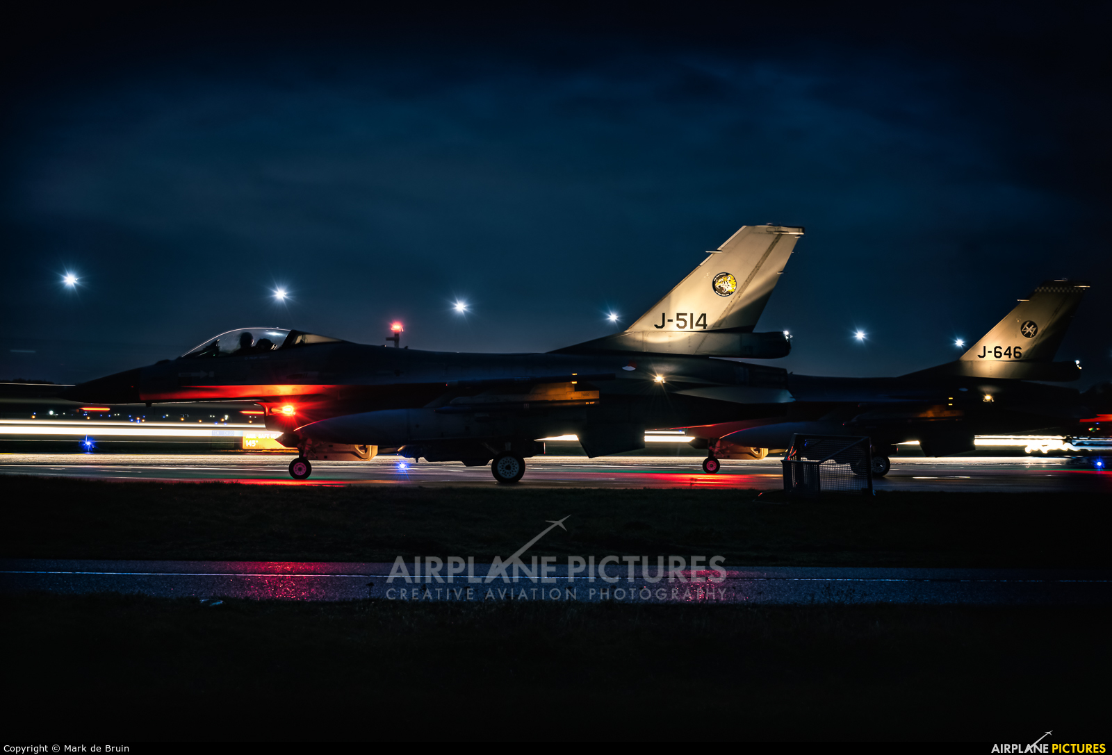 Netherlands - Air Force J-514 aircraft at Uden - Volkel