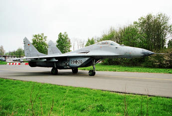 29+20 - Germany - Air Force Mikoyan-Gurevich MiG-29G