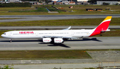 EC-JPU - Iberia Airbus A340-600
