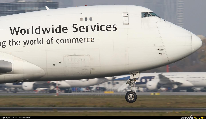 UPS - United Parcel Service N577UP aircraft at Warsaw - Frederic Chopin