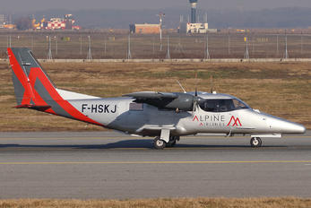 F-HSKJ - Alpine Airlines Vulcanair Vulcanair AP-68TP-600 Viator