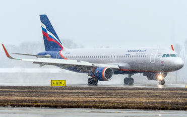 VP-BIX - Aeroflot Airbus A320