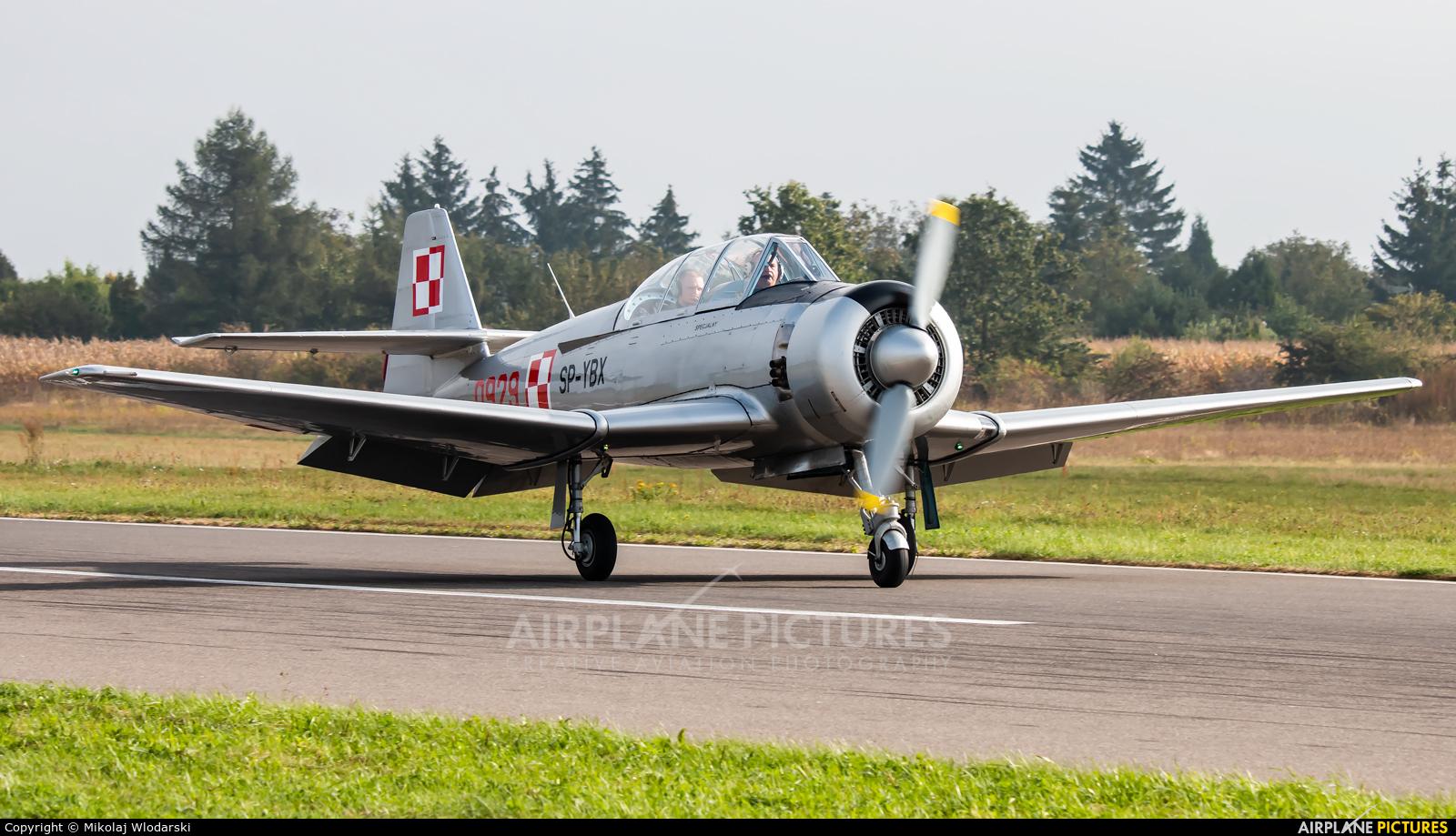 Private SP-YBX aircraft at Piotrków Trybunalski