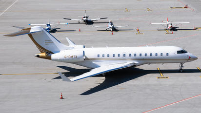 G-OMTX - Private Bombardier BD-700 Global 5000