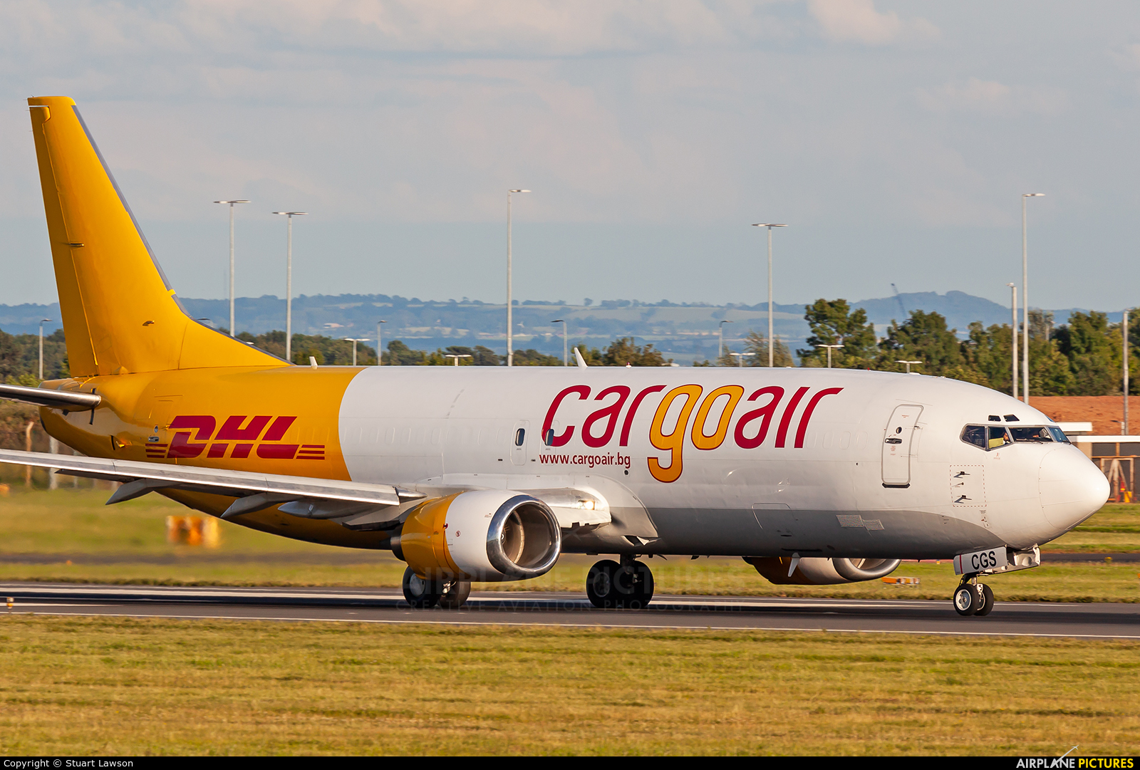 Cargo Air LZ-CGS aircraft at East Midlands