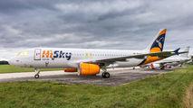 YR-SKY - HiSky Airbus A320 aircraft