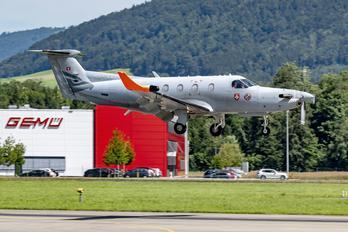 HB-FOG - Switzerland - Armasuisse Pilatus PC-12M Eagle
