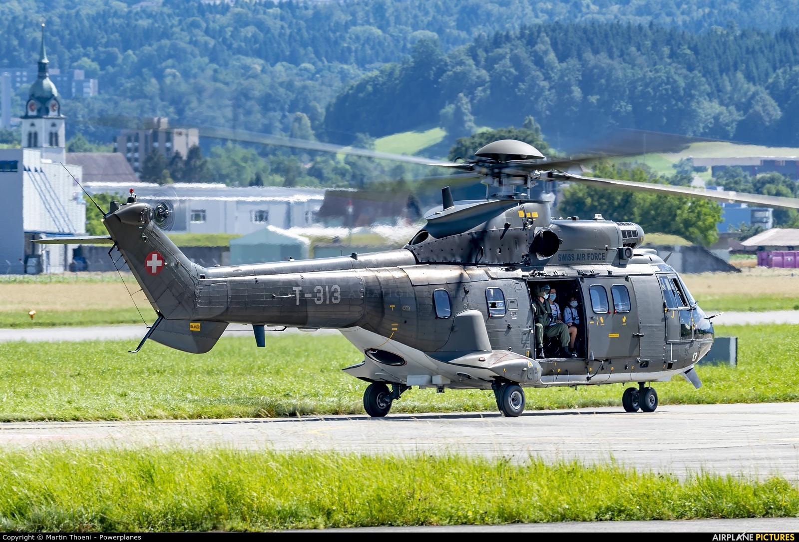 Switzerland - Air Force T-313 aircraft at Emmen