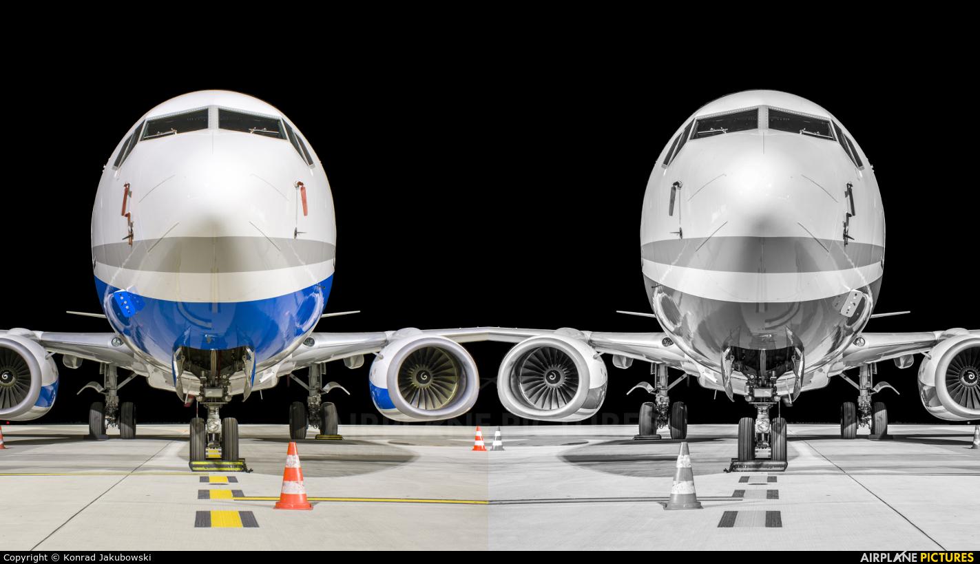 Enter Air SP-ENR aircraft at Katowice - Pyrzowice