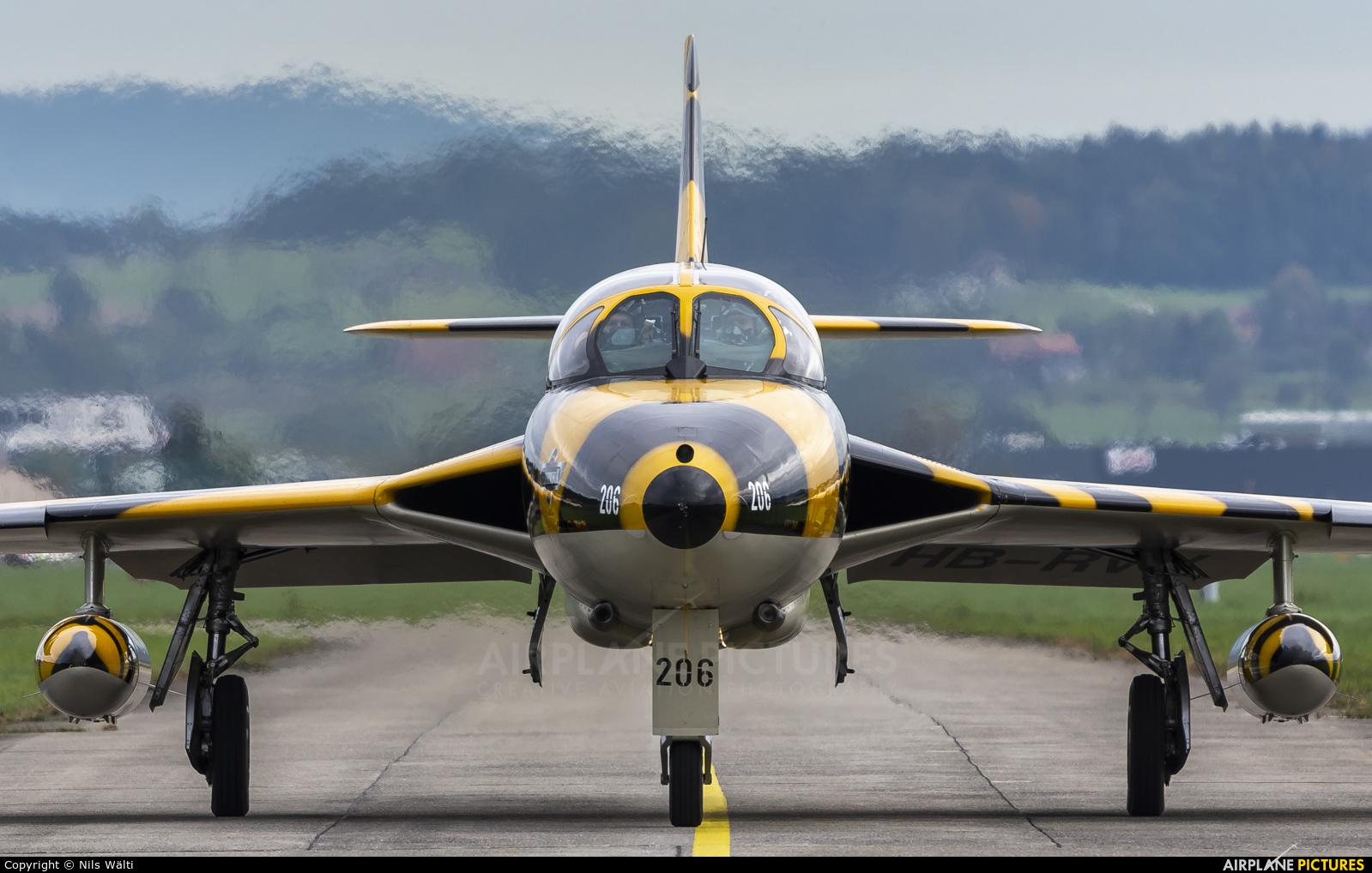 FFA Museum HB-RVV aircraft at Emmen
