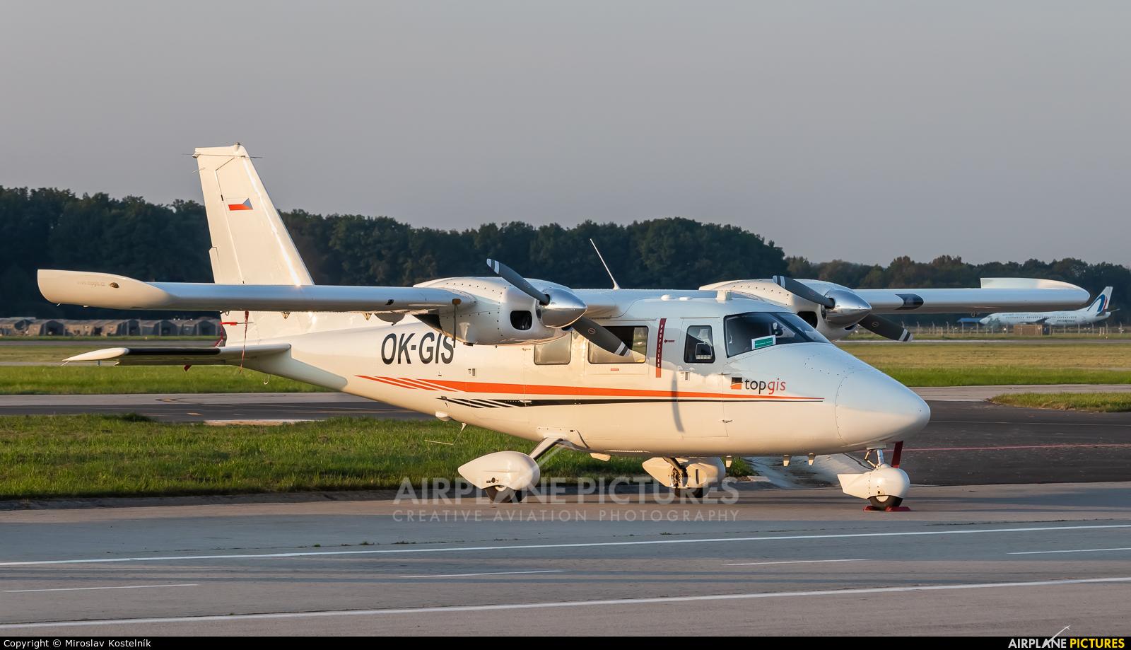 Private OK-GIS aircraft at Ostrava Mošnov