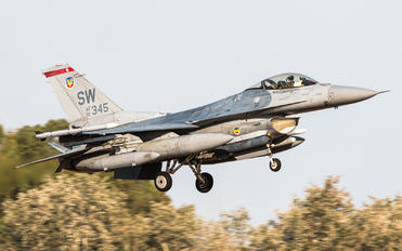 91-0345 - USA - Air Force Lockheed Martin F-16CJ Fighting Falcon