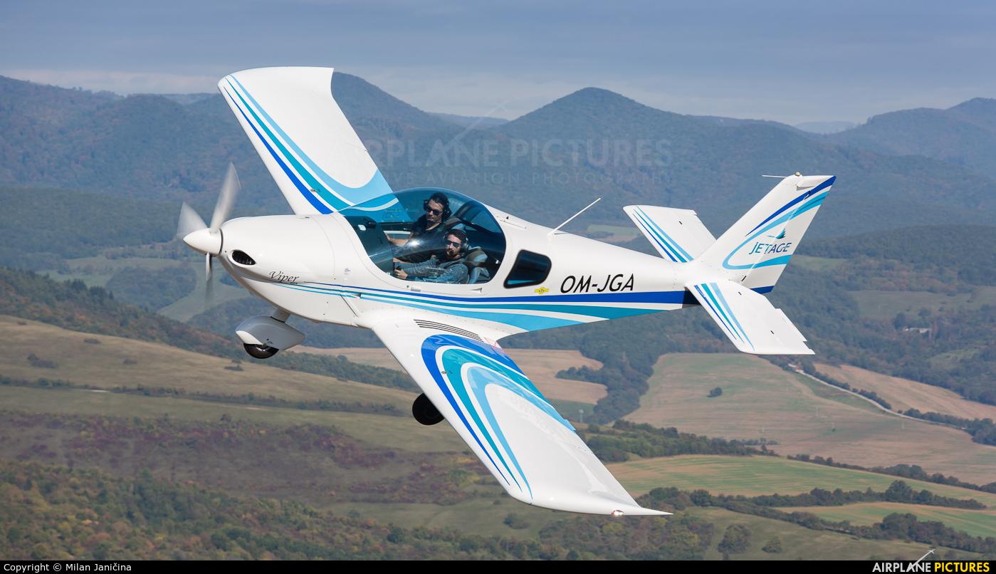 JetAge OM-JGA aircraft at In Flight - Slovakia