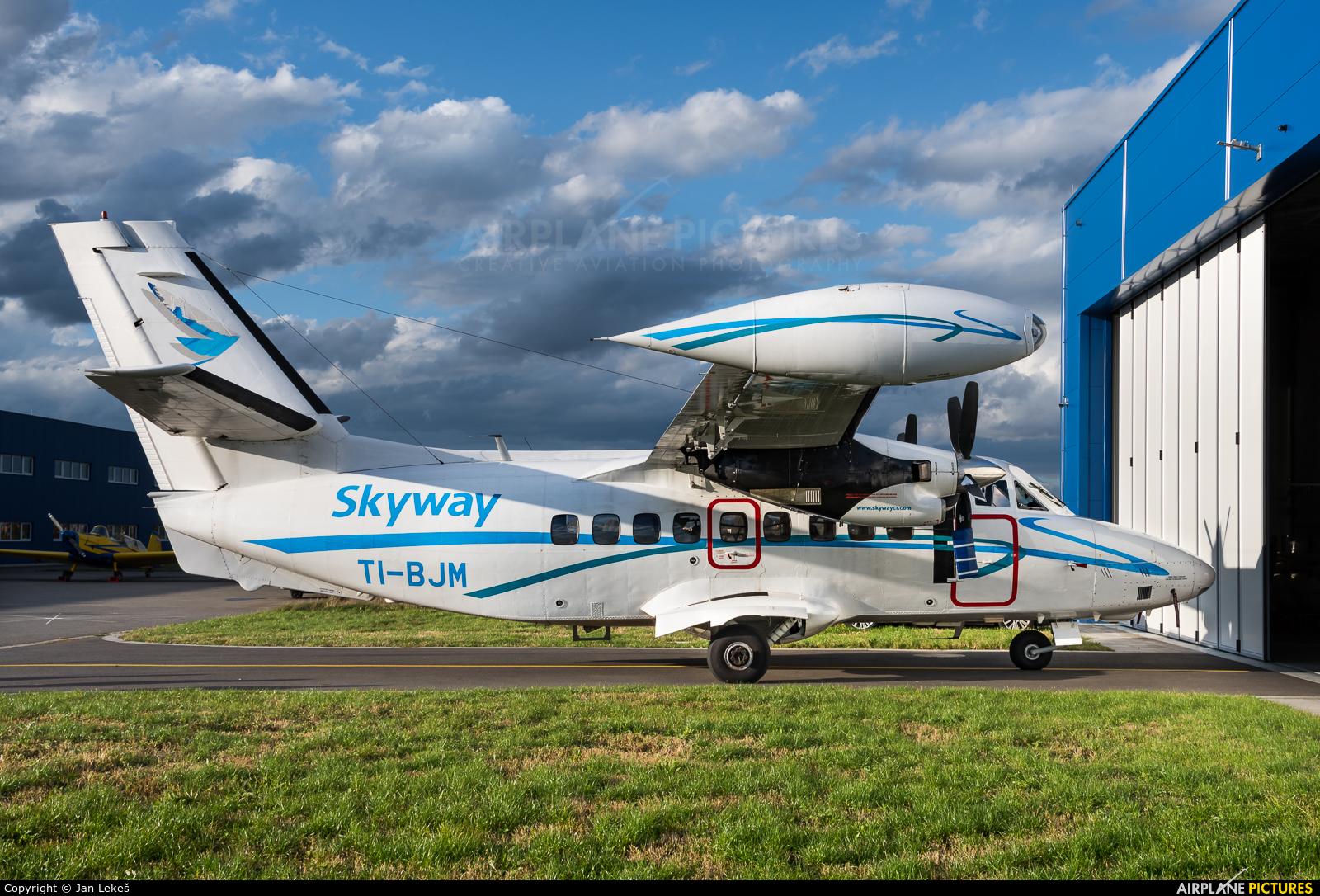 Skyway Costa Rica TI-BJM aircraft at Uherské Hradiště - Kunovice