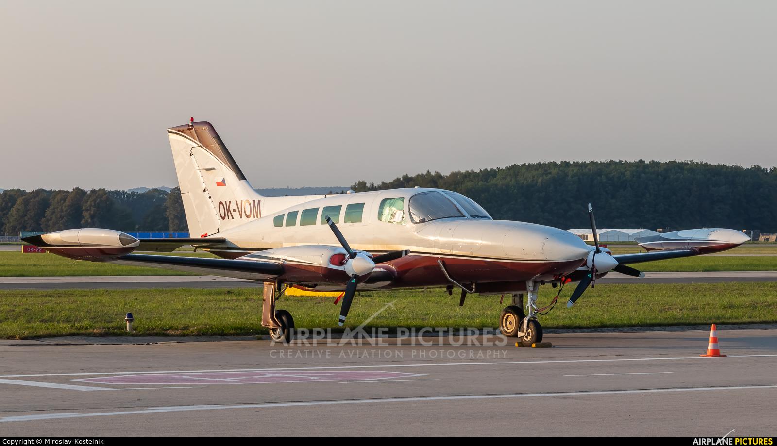 Private OK-VOM aircraft at Ostrava Mošnov