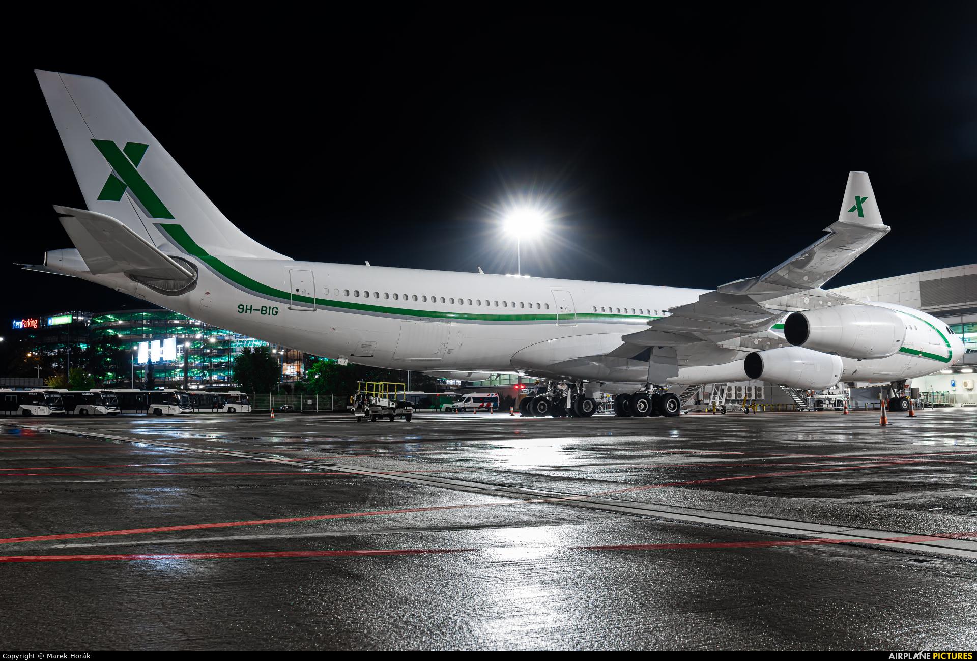 AIR X Charter 9H-BIG aircraft at Prague - Václav Havel