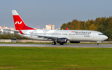 VP-BSC - Nordwind Airlines Boeing 737-800