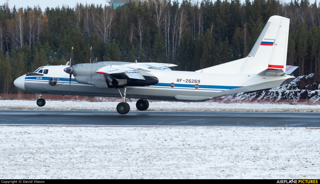 Russia - Air Force RF-26269 aircraft at Krasnoyarsk - Yemelyanovo