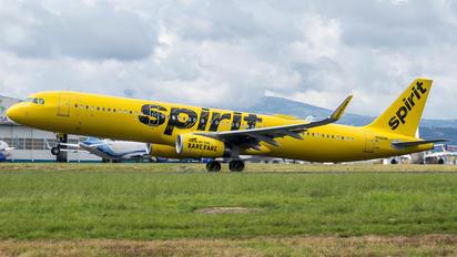 N686NK - Spirit Airlines Airbus A321