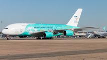 9H-MIP - Hi Fly Malta Airbus A380 aircraft