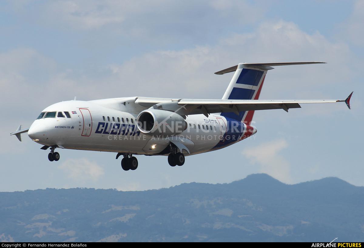 Cubana CU-T1714 aircraft at San Jose - Juan Santamaría Intl