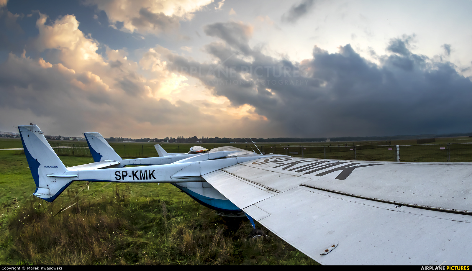 Private SP-KMK aircraft at Warsaw - Babice