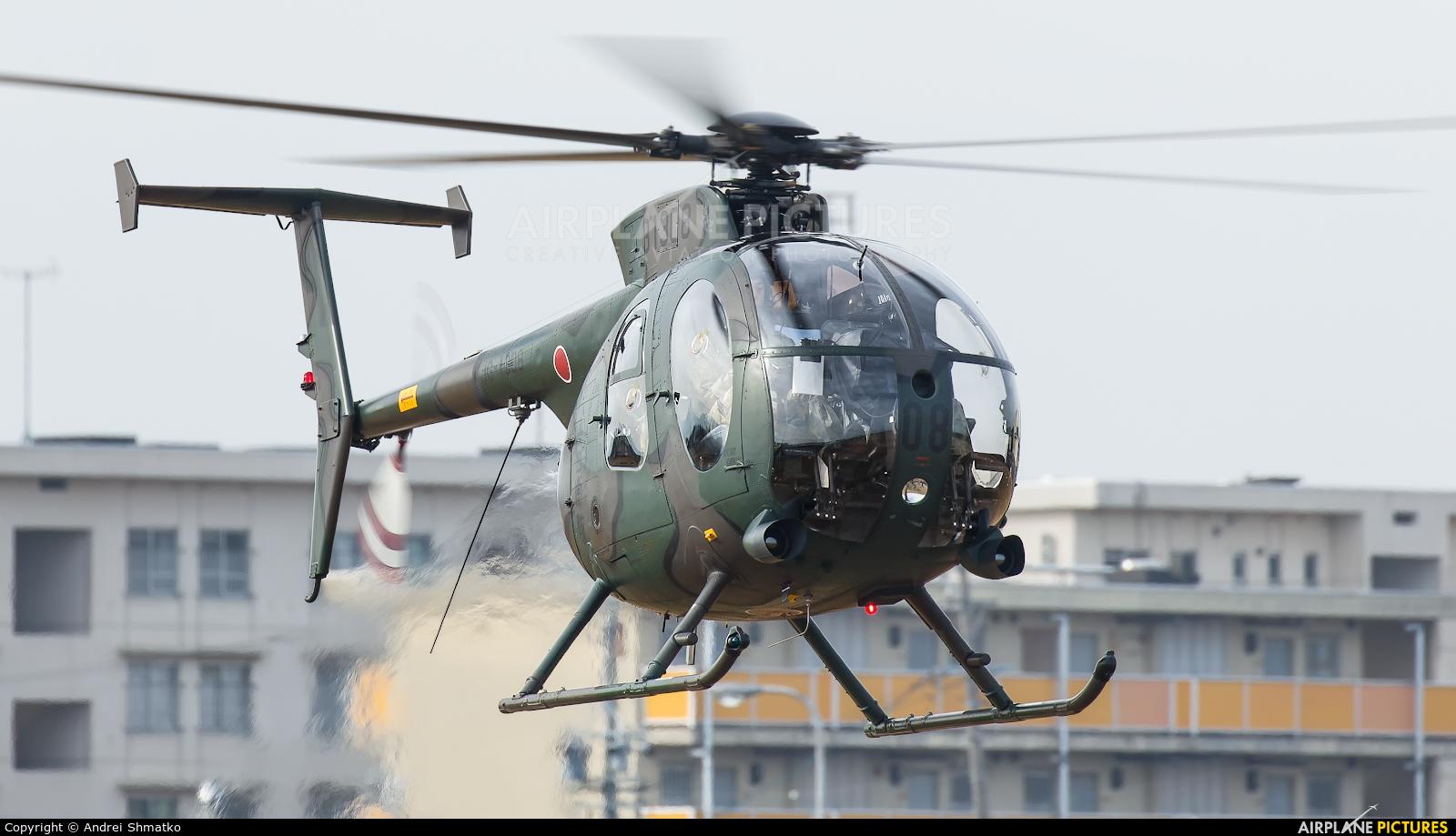 Japan - Ground Self Defense Force 31308 aircraft at Akeno Air Field