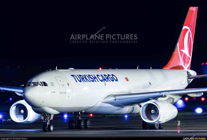 Turkish Cargo TC-JOU aircraft at Helsinki - Vantaa