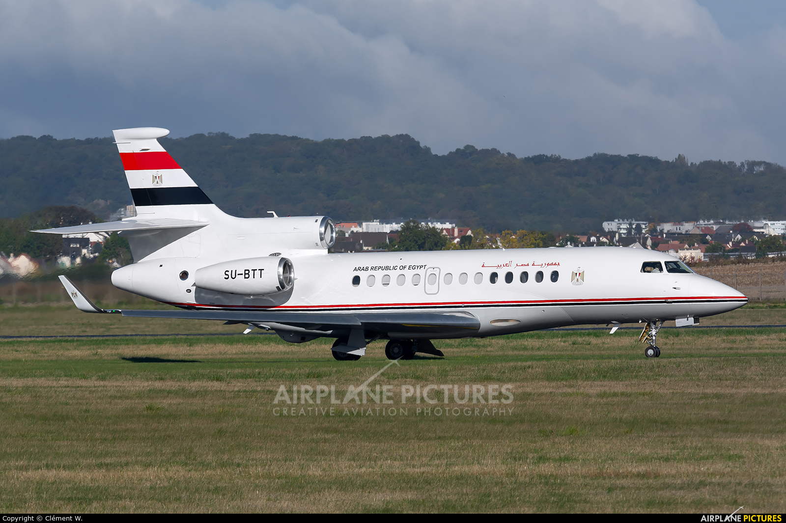 Egypt - Government SU-BTT aircraft at Paris - Le Bourget