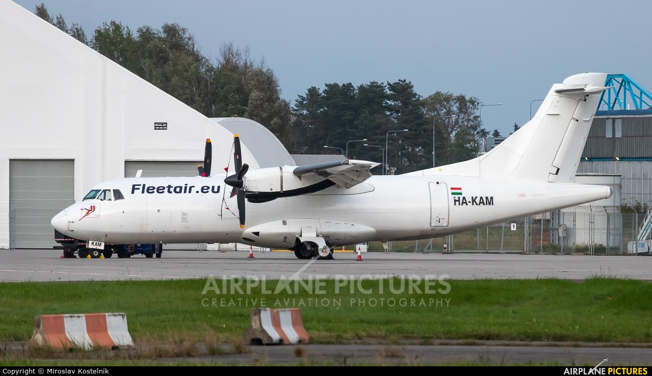 Fleet Air International HA-KAM aircraft at Ostrava Mošnov