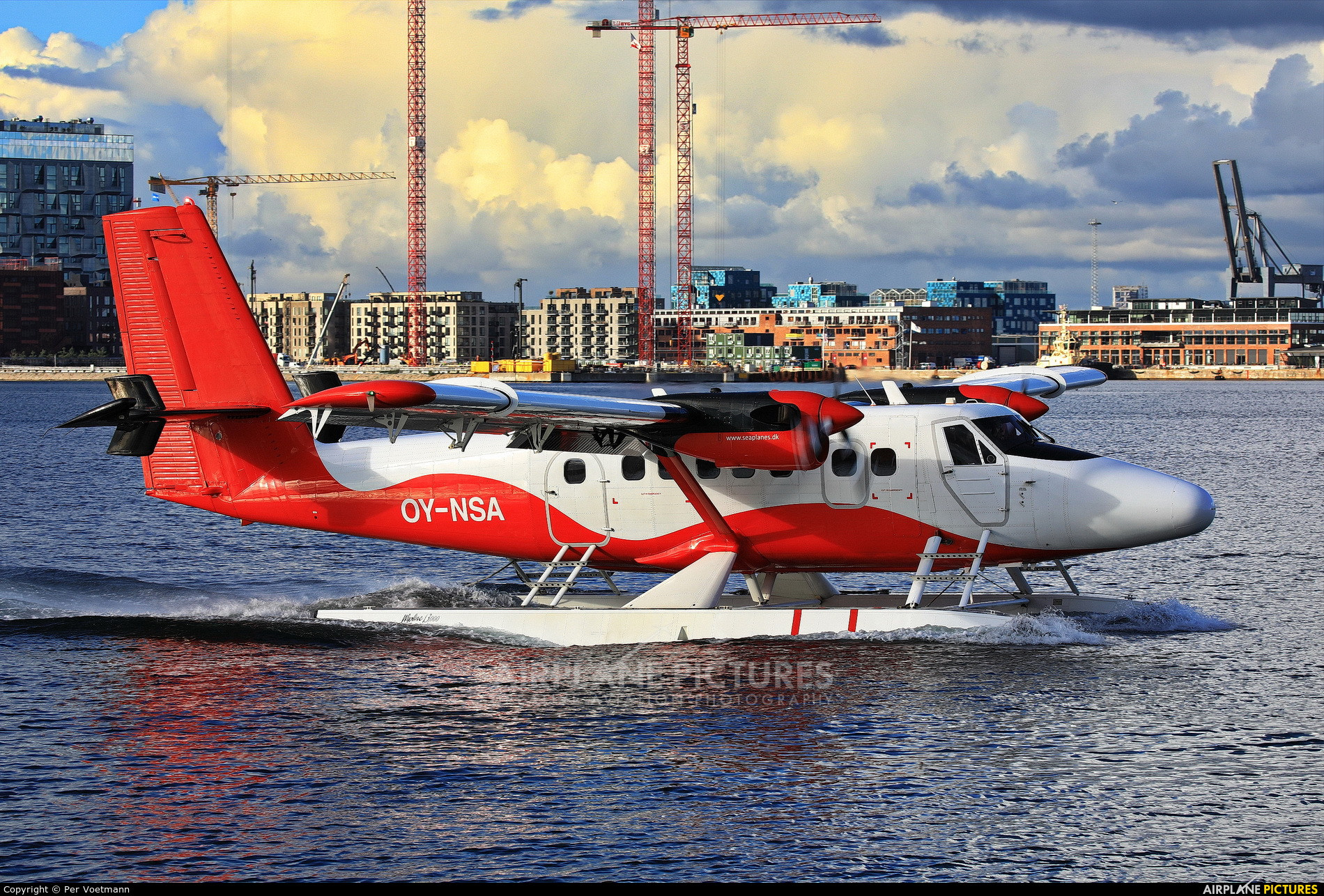 Nordic Seaplanes OY-NSA aircraft at Off Airport - Denmark