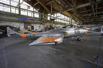 SE-DXX -  de Havilland DH.115 Vampire T.55