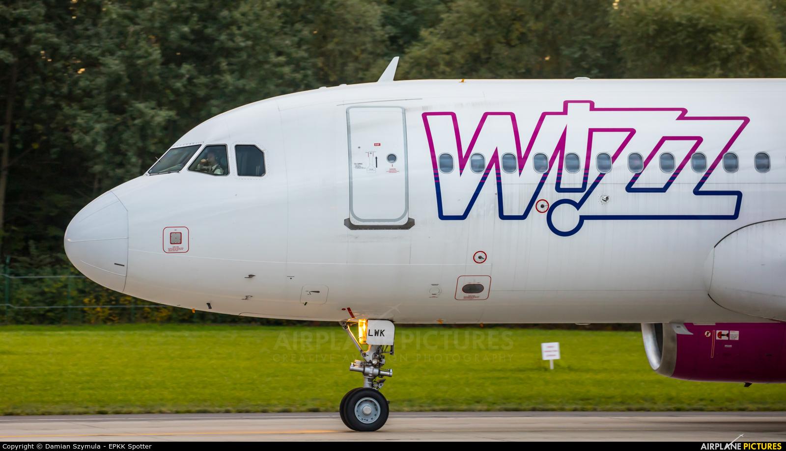 Wizz Air HA-LWK aircraft at Kraków - John Paul II Intl
