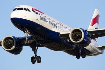 G-TTND - British Airways Airbus A320 NEO