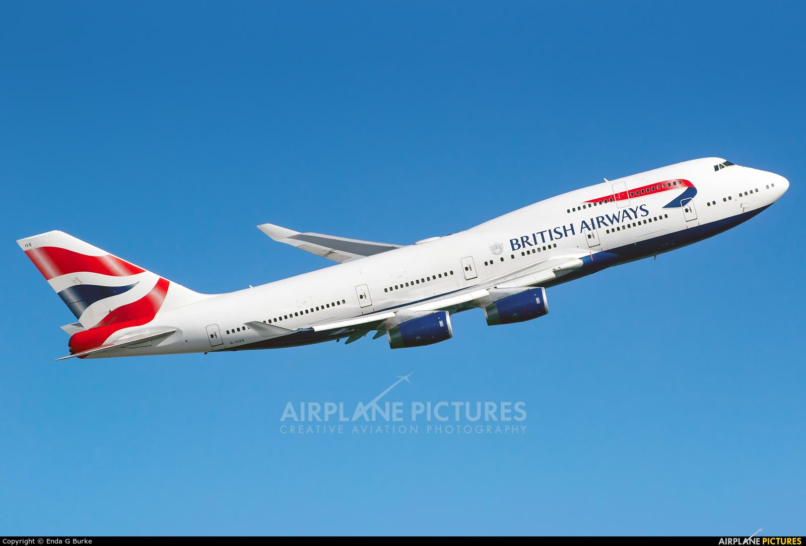 British Airways G-CIVS aircraft at London - Heathrow